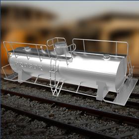 Tank car for 3D printing