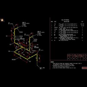 Structural design isometrics