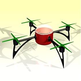 Smartphone controlled UAV