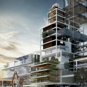 Architectural industrial project