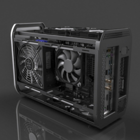 Mini ITX case design