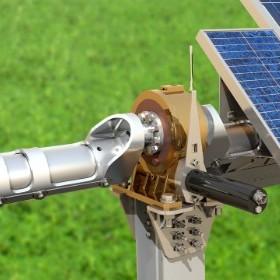 Solar Panel Rotation Mount