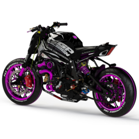 Superbike motorcycle rendering