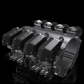 Car engine rendering