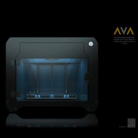 AVA 3D printer prototype