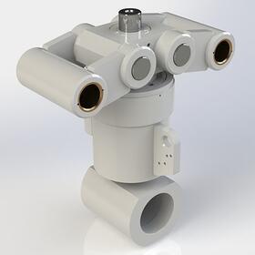 Hydraulic cylinder model