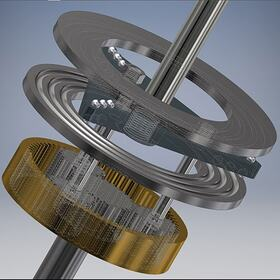 Helicopter rotor transmission