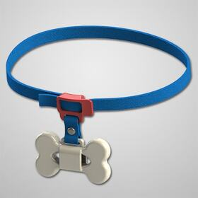 Dog collar with bow