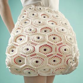 3D-printed designer dress