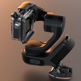 Waterproof wearable camera stabilizer