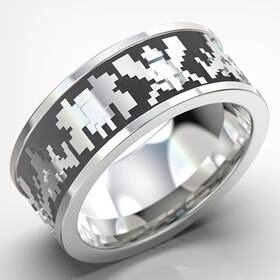 Video game ring animation
