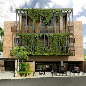3D residential building design