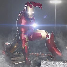 Iron man render