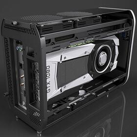3D Mini ITX case design