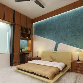 3D bedroom fly-through