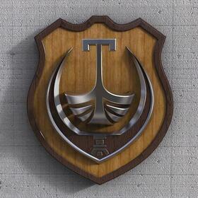3D logo design for Tivat city hall