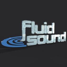 Fluid Sound 2D to 3D logo