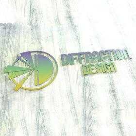 Diffraction Design 3D logo