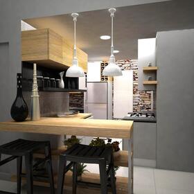 3D kitchen presentation