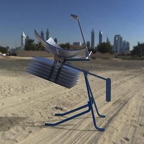 Solar dish power generator