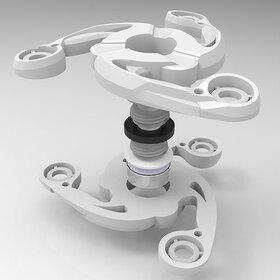 Double fidget spinner