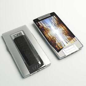 Luxury smartphone 3D rendering