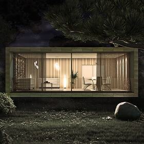 House exterior 3D rendering