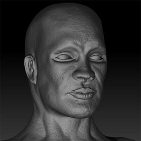 Character 3D sculpting