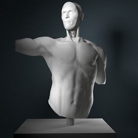 3D human anatomy sculpting