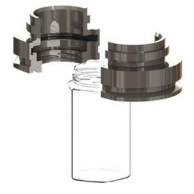 Glass bottle neckring