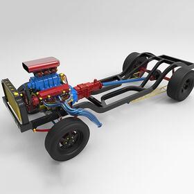 3D automobile build