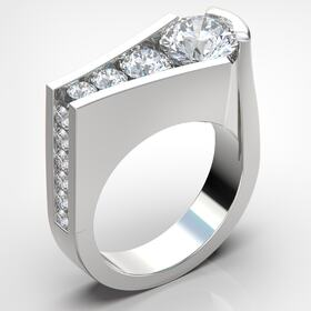 3D jewelry rendering
