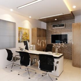 3D office rendering