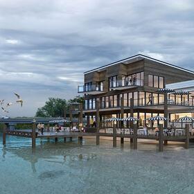 3D hotel site planning