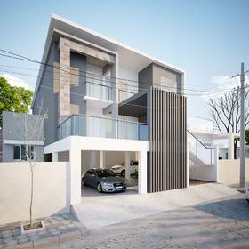 3D residential site plan