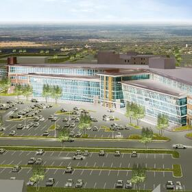 3D hospital site planning