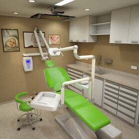 3D dental office rendering