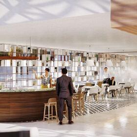 3D hospital interior design