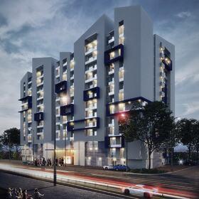 Apartment cmplex exterior design