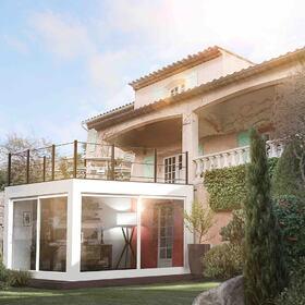 Residential house exterior design