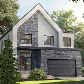 Country house exterior design