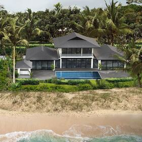 Beach home rendering