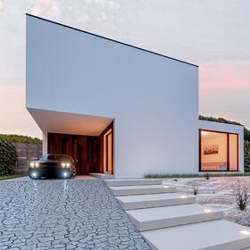 Minimalistic house design