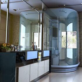 Bathroom interior rendering