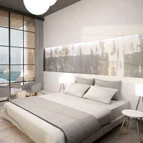 Bedroom interior rendering