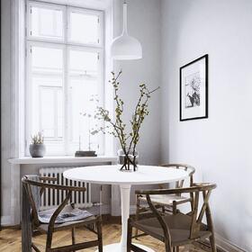 Apartment interior rendering
