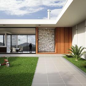 Backyard garden rendering