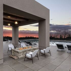 SPA patio rendering