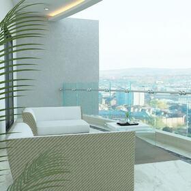 Balcony 3D rendering