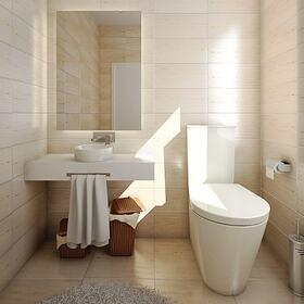 Bathroom RTX rendering